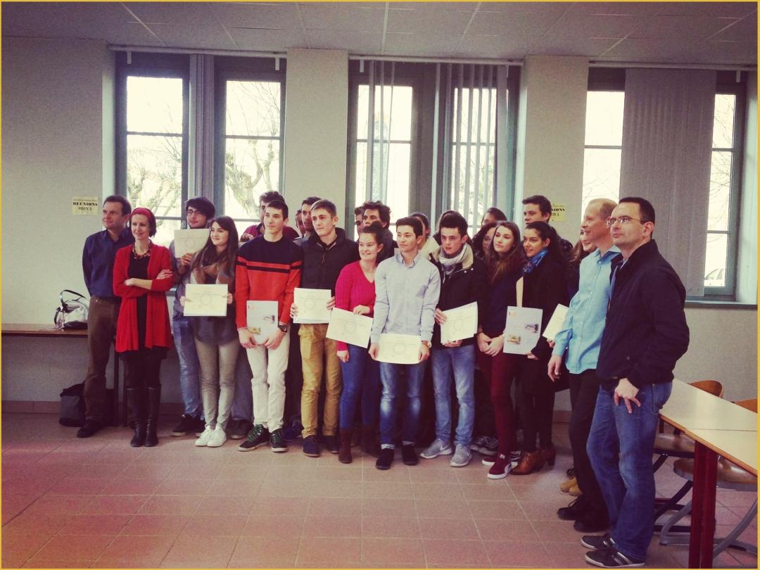 Cérémonie de remise de diplôme du baccalauréat - Promotion 2015